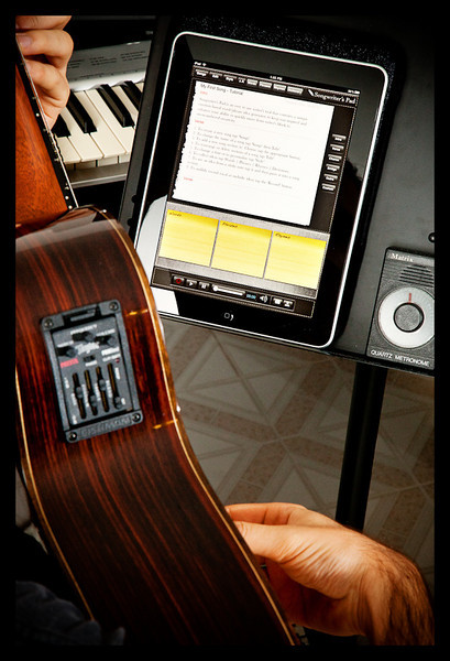 ipad, songwriter's pad, review, app